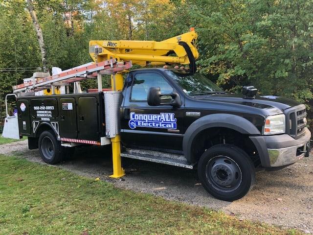Bucket Truck Services in Nova Scotia