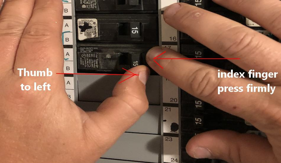 Circuit Breaker On But No Power