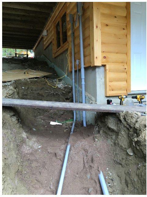 underground trench