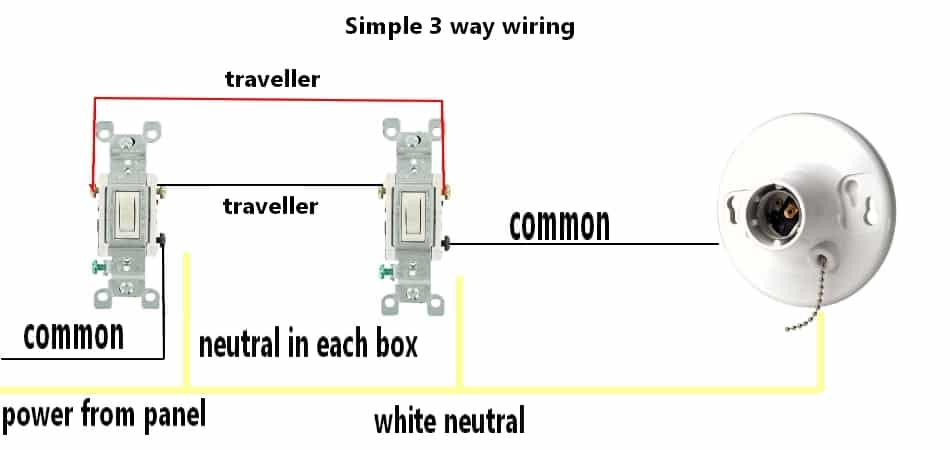 How To Wire A 3 Way Switch