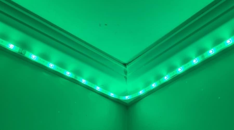 what color should I put my led lights on